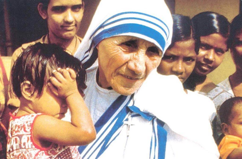 A Roma per la canonizzazione di Madre Teresa di Calcutta
