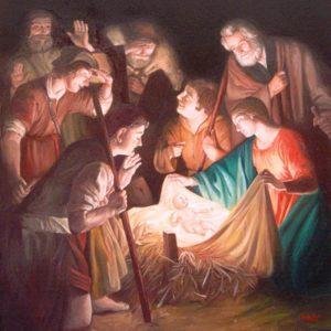 Adorazione dei pastori - Gherardo delle Notti